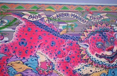 Ceda presentó el primer mural del proyecto 'Central de Muros'