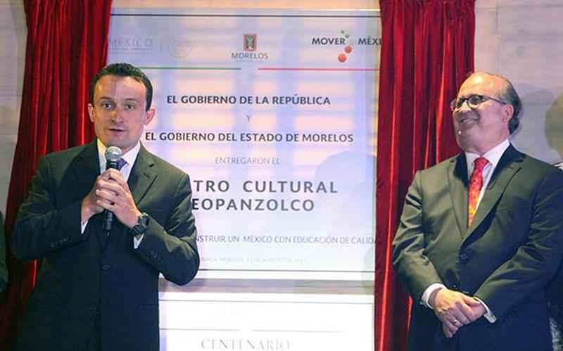 Inauguran Centro Cultural Teopanzolco