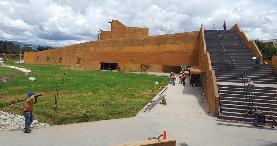 Centro Cultural y de Convenciones de Oaxaca, nueva obra monumental del estado