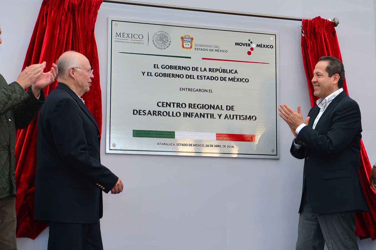Inauguran el Centro de Desarrollo Infantil y Autismo más grande del país