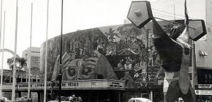 Centro urbano - Juegos Olimpicos Mexico 1968 -teatro-insurgentes