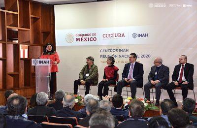 Centros INAH asisten a la Reunión Nacional 2020 en Tlaxcala