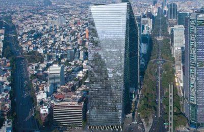 Chapultepec Uno: un rostro vanguardista al skyline de la ciudad