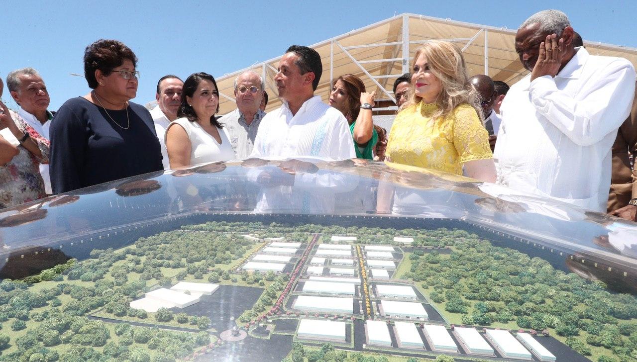 Inician construcción de parque industrial en Chetumal