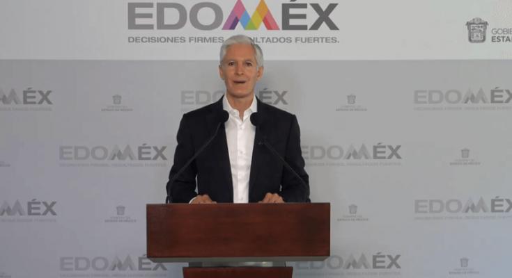 Cierre de Centros Comerciales y Cines en el Edomex-Alfredo del Mazo
