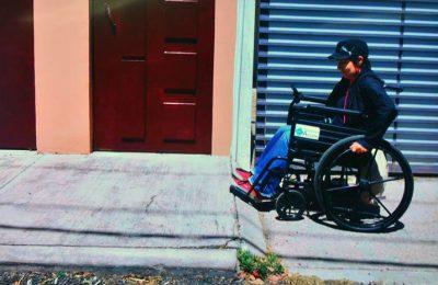 Ciudad de México, excluyente para peatones y discapacitados