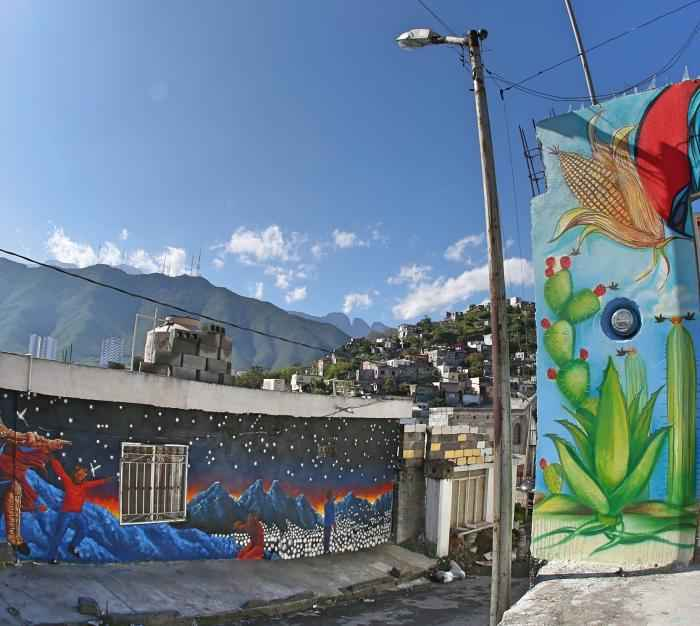 Inauguran Ciudad Mural Monterrey