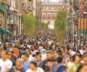Ciudad poblada