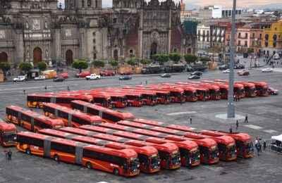 En marcha 38 unidades nuevas para el Metrobús en la CDMX