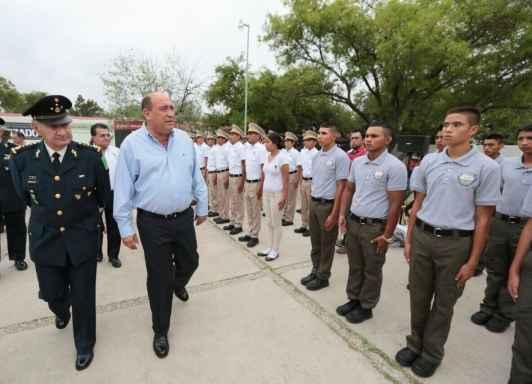 Coahuila inaugura Bachillerato Tecnológico Militarizado