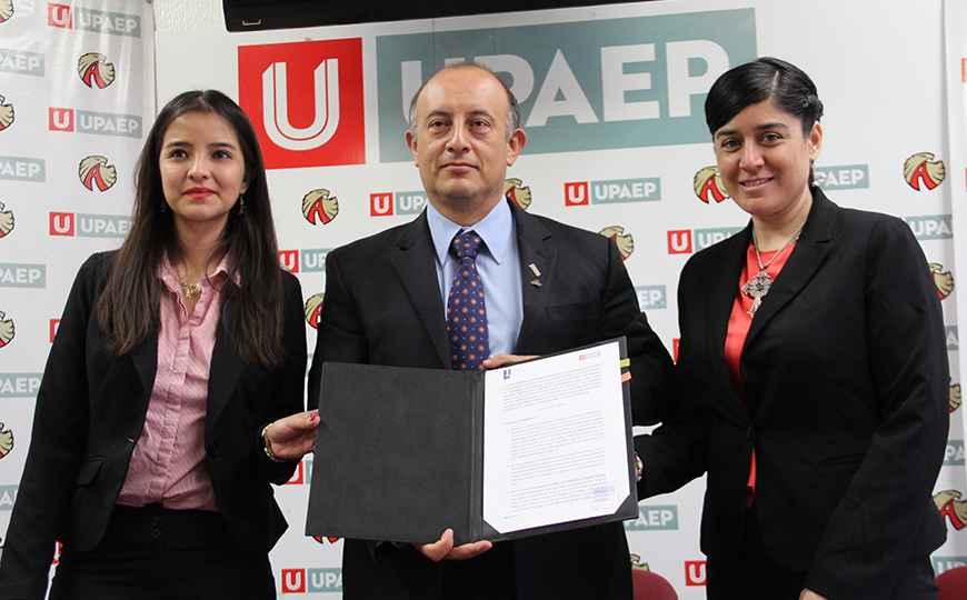 Colegio de Arquitectos de Tlaxcala firma convenio con la UPAEP