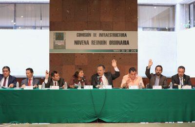 Comisión de Infraestructura otorga VoBo a PND 2019-2024