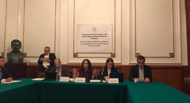 Comisión de Vivienda ALDF evalúo 51 edificios