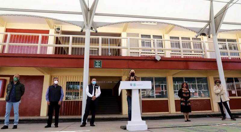 Con 2,242 mpd, el GCDMX rehabilita escuelas dañadas por el 19S