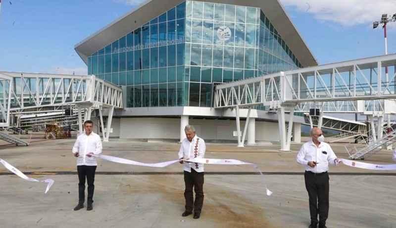 Con 440 mdp, amplían Aeropuerto Internacional Ángel Albino Corzo