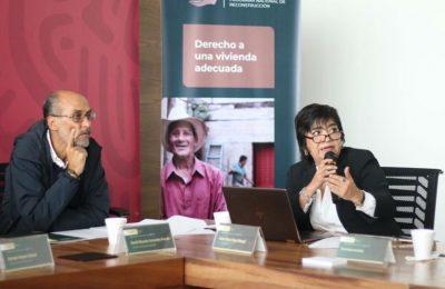 Edna Vega Rangel, directora general de la Comisión Nacional de Vivienda (Conavi), informó que este año, a través del Programa Nacional de Reconstrucción (PNR), se han aprobado subsidios para atender a un total de 36,597 viviendas afectadas por los sismos de septiembre de 2017 y febrero de 2018; de los cuales ya se han entregado más de 31,000. Para esto, se cuenta con una inversión de 5,067 millones de pesos con los que atienden 11,609 viviendas afectadas parcialmente, y a 24,988 con daño total; ubicadas principalmente en Chiapas, Estado de México, Guerrero, Morelos, Oaxaca y Puebla. En el marco de la novena sesión ordinaria de la Comisión Intersecretarial de Reconstrucción (CIR), encabezada por Román Meyer Falcón, secretario de Desarrollo Agrario, Territorial y Urbano (Sedatu), la titular de Conavi destacó que, con el PNR, se han atendido 148 municipios y beneficiado a 146,380 personas. Por otro lado, en materia de cultura, a través del PNR se han restaurado 1,029 inmuebles, de los 2,340 monumentos históricos dañados por los sismos; lo cual representa un avance del 44 por ciento. Asimismo, la Secretaría de Salud informó que, con una inversión de 491 millones de pesos, se atienden 102 unidades; de las cuales 10 ya han sido concluidas, y se espera que este mismo año se terminen los trabajos de 82 proyectos más en entidades como Chiapas, Ciudad de México, Estado de México, Guerrero, Morelos, Oaxaca y Puebla. Finalmente, respecto a la infraestructura educativa afectada por los sismos, la Secretaría de Educación Pública (SEP) dio a conocer que hay mayores avances en entidades como la CDMX, Morelos y Puebla, por lo que las obras podrían concluir a inicio de enero; mientras que, en Chiapas y Oaxaca, donde se presentan mayores rezagos Los trabajos de reconstrucción podrían terminar durante el primer trimestre de 2020.