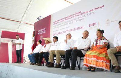 Con PMU y 1,000 mdp, Sedtau intervendrá cinco municipios de Tabasco