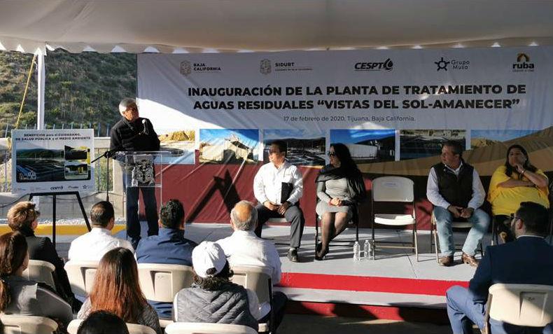 Con inversión de 100 mdp, inauguran planta tratadora de aguas en Tijuana