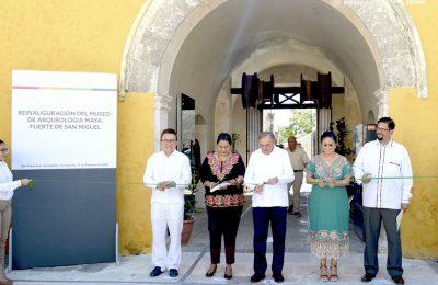 Con más de 12 mdp, renuevan Museo de Arqueología Maya