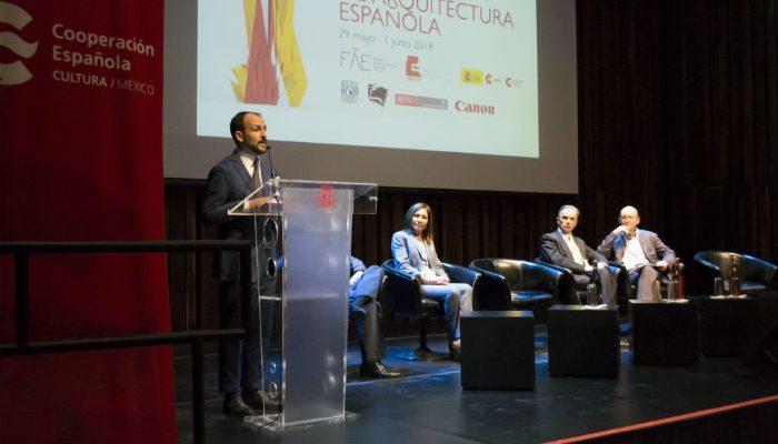 Con éxito inician actividades del Primer Festival de Arquitectura Espaola