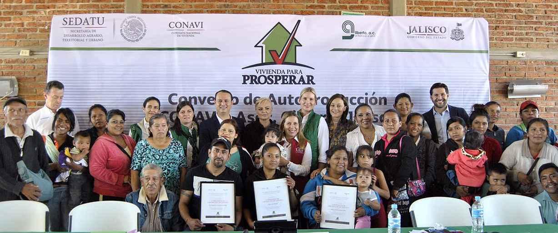 Impulsarán autoproducción de vivienda en Jalisco