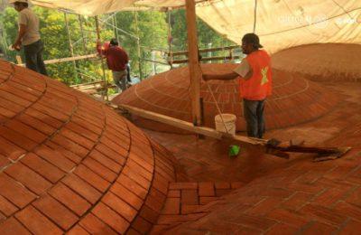 Concentran acciones en Oaxaca para rescatar el patrimonio cultural afectado por los sismos