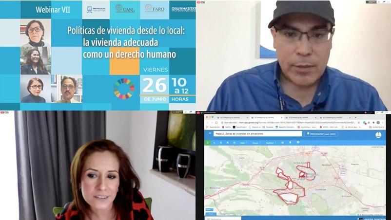 Concluyen San Nicolás y ONU-Hábitat webinars sobre desarrollo urbano
