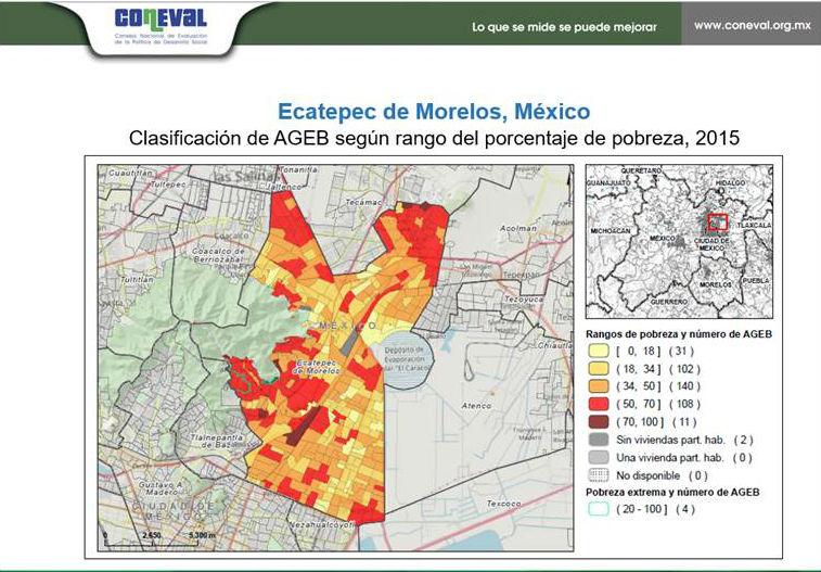 Coneval presenta plataforma digital para identificar pobreza urbana