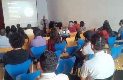 Horacio Urbano ofreció pláticas sobre desarrollo inmobiliario