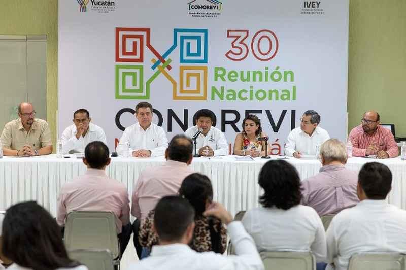 Inicia reunión de Conorevi en Mérida