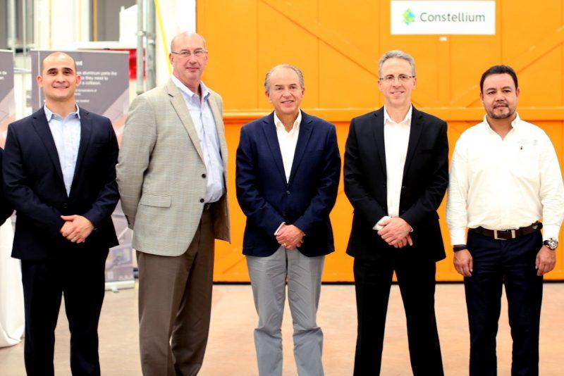 Constellium Automotive inauguró planta en San Luis Potosí