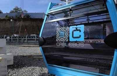 Construcción de Línea 2 del Cablebús presenta avance del 80%