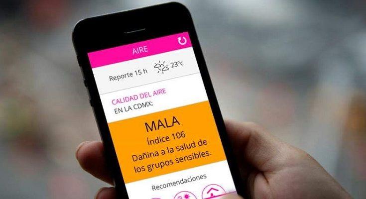 Consultar la calidad el aire es posible con nueva App