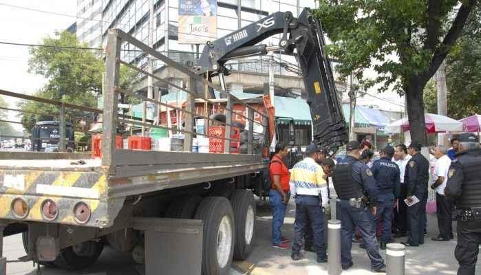 GCDMX reordena espacios en Metro Chilpancingo