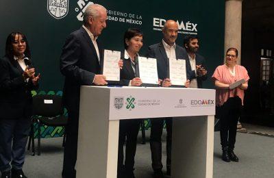 CDMX y Edomex firman convenio para manejo de residuos sólidos