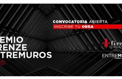 Convocan a la edición 2020 del Premio Firenze Entremuros