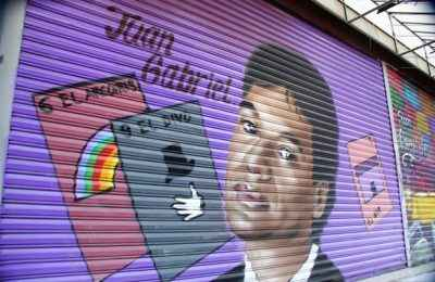 Intervienen Garibaldi con arte urbano