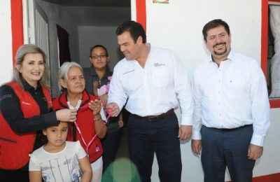 Entregan Cuartos Rosas en Guaymas, Sonora