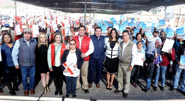 Entrega Coves escrituras en Guaymas