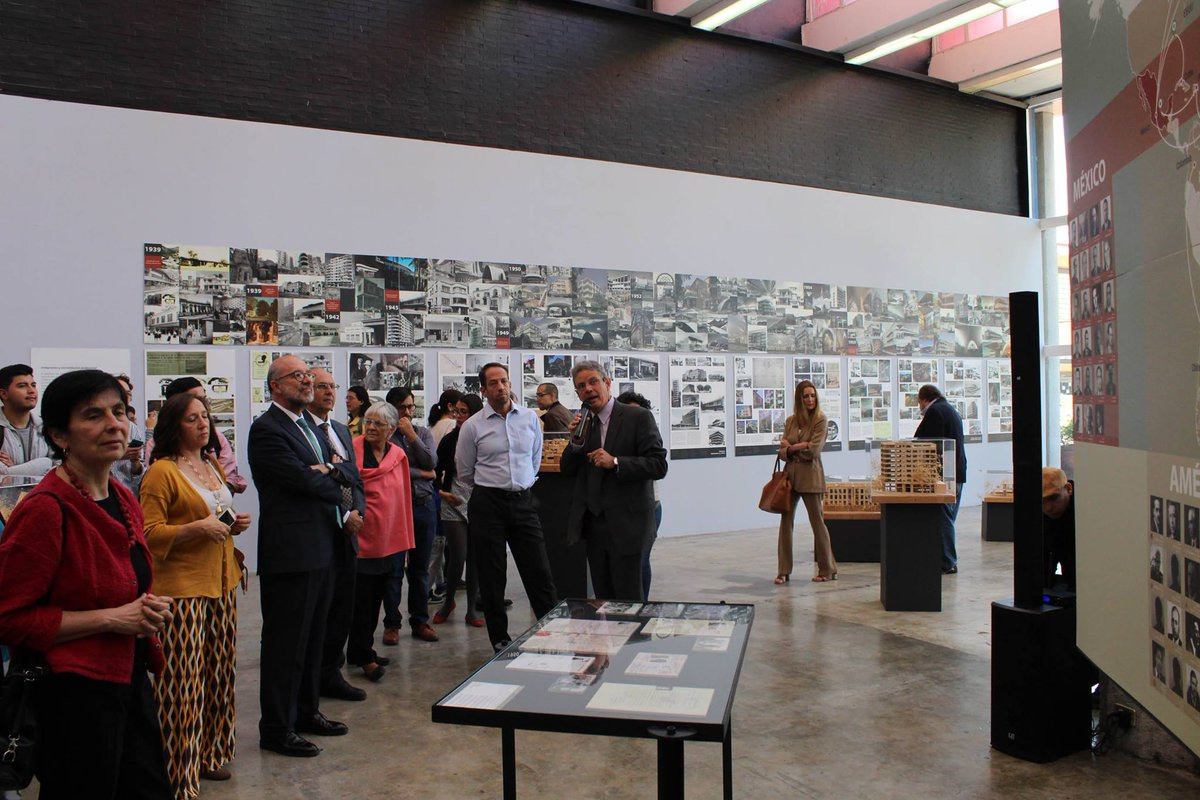 UNAM presenta el exilio español en la arquitectura mexicana