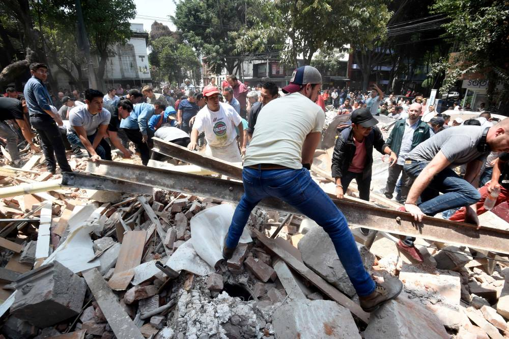 Ciudad de México declarada en estado de desastre
