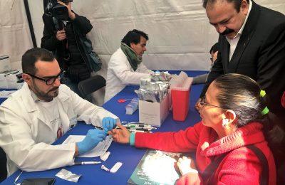 Realizan campaña masiva contra el VIH en CDMX