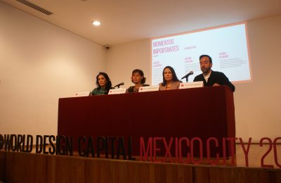 Presentan programa de World Design Capital CDMX 2018