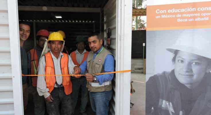 Abren aula de Construyendo a México Crecemos en Zaragoza