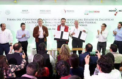 GRE destaca el trabajo del Gobierno Federal en Zacatecas