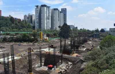 Dan mejoramiento urbano a zonas por donde pasará el Tren México-Toluca