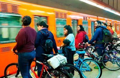 De octubre a diciembre, 26,219 personas ingresan al Metro con bicicleta