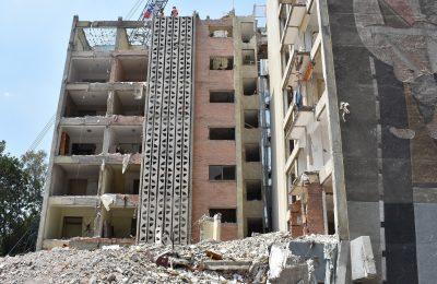 Concluyen trabajos de demolición en edificio Osa Mayor