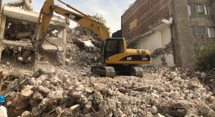 Sobse terminó demolición de edificio de 11 pisos