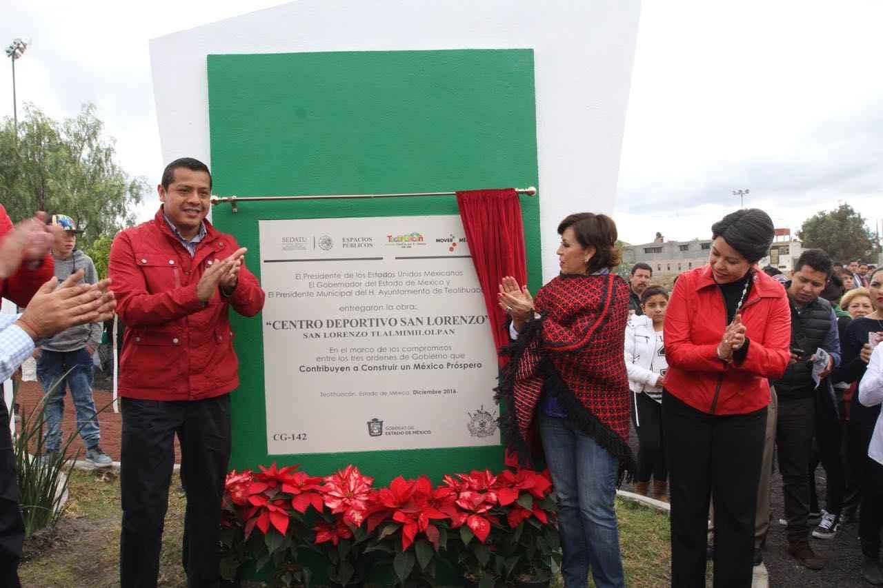 Inauguran centro deportivo San Lorenzo